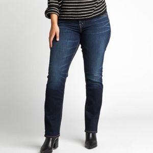 Silver Suki High  straight Jeans size 29
